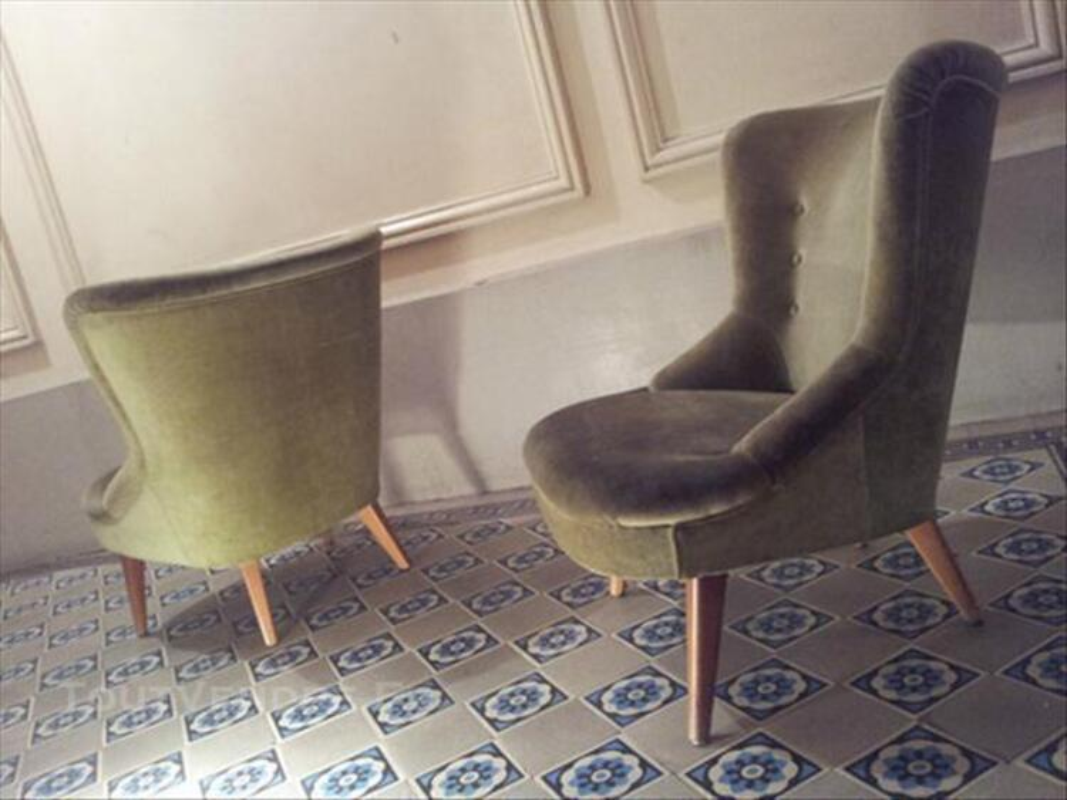 Canapé sofa banquette année 50 60 styl Jean ROYERE 3pla 76146773