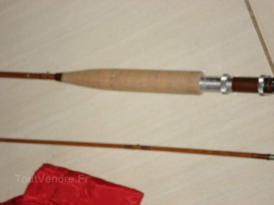 Canne à mouche bambou refendu 102513599