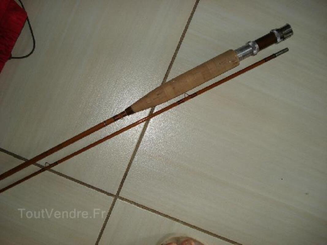 Canne à mouche bambou refendu 102513600