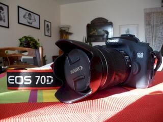 Canon 70D + 2 Objectifs et accessoires