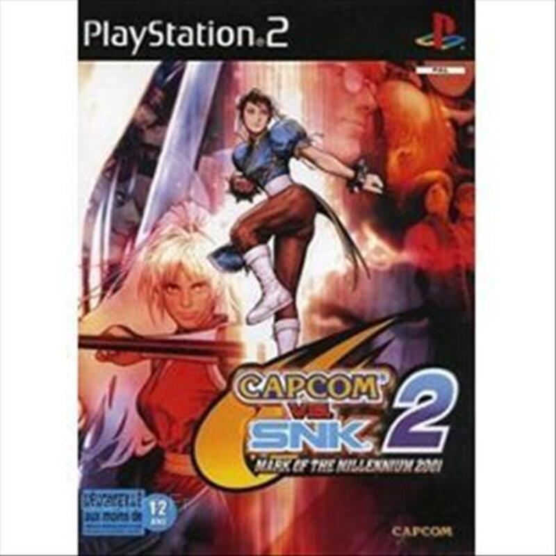 Capcom Vs SNK 2 - Jeu PS2 66070614