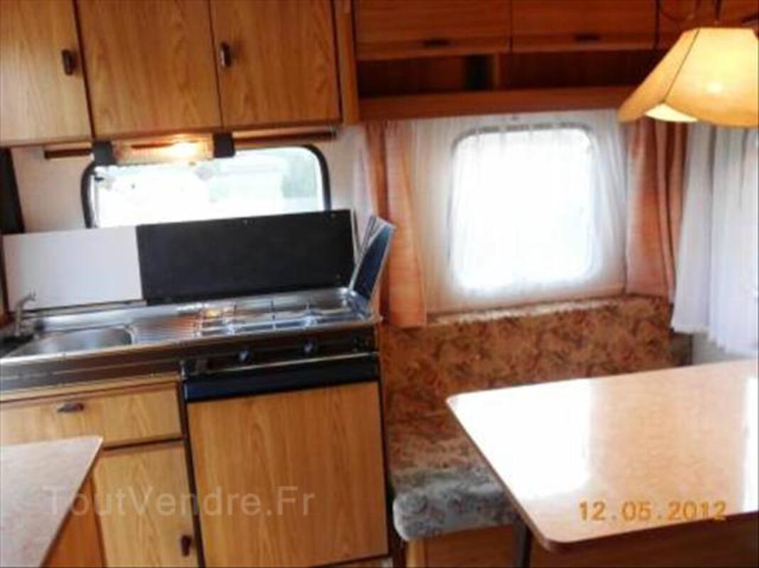 Caravane BURSTNER série Club 420 TS 1989 + auvent 62602174