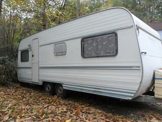 Caravane Munsterland 5m80, 2 essieux, 4 saisons