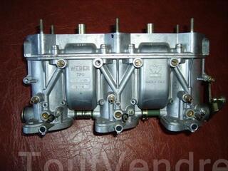 Carburateur Weber triple corps 40 IT 100