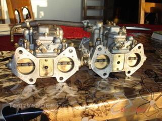 Carburateurs WEBER pour Alfa