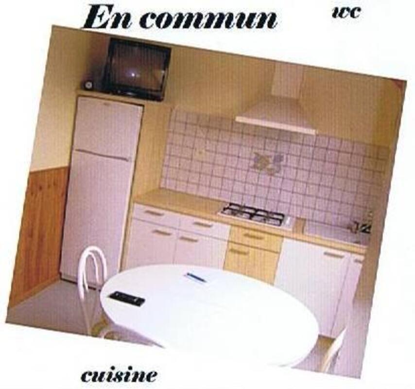 CARENTOIR, location chambre, cuisine meublées TBE 2509012