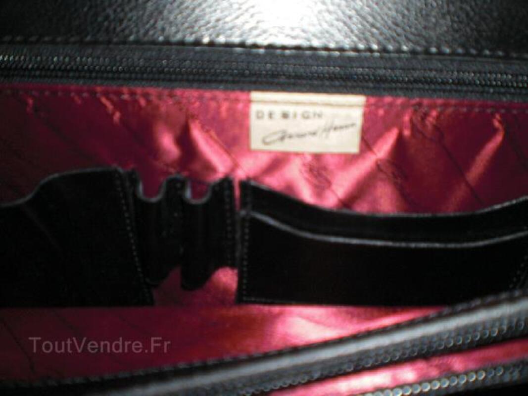 CARTABLE HOMME EN CUIR DE VACHETTE LISSE GERARD HENON 95924481