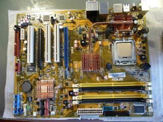 Carte mère ASUS P5K + Proc INTEL Core 2 E6750 &Ventirad