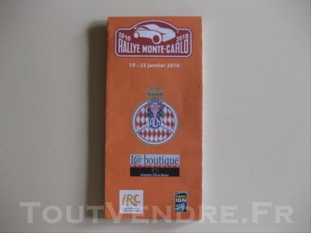 Carte routière Rallye Monte-Carlo 2010 73988724