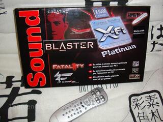 Carte son Sound Blaster X-Fi Platinum Fatality