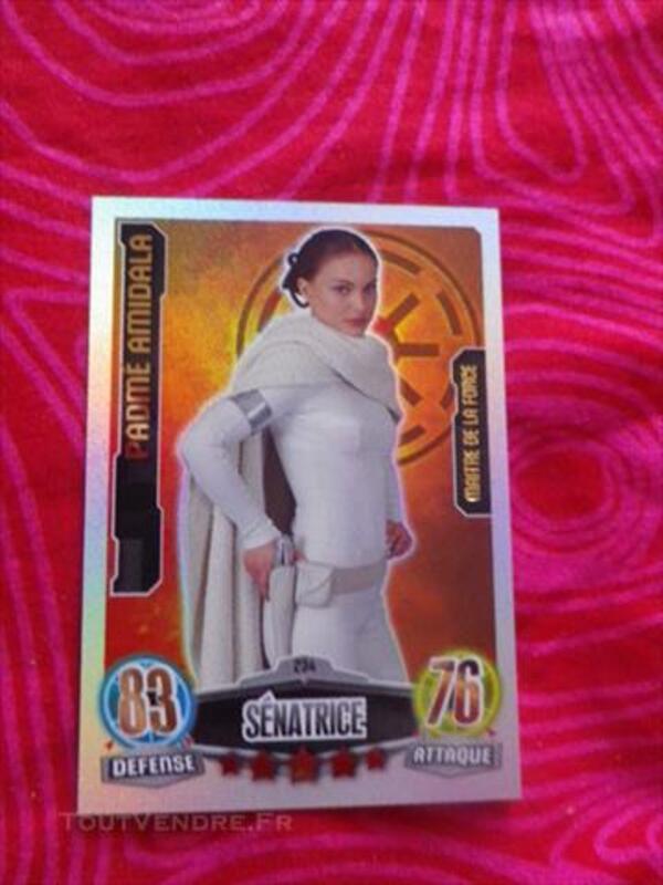 Carte Star Wars Attax Padmé Amidala 234/240 85269886