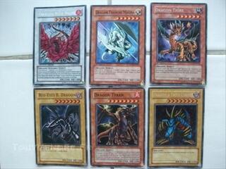 Carte Yu Gi Oh ( dragon )