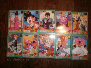 Cartes Dragon Ball Z