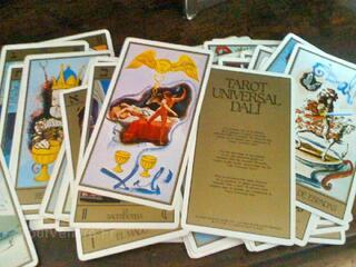 Cartes jeu Tarot