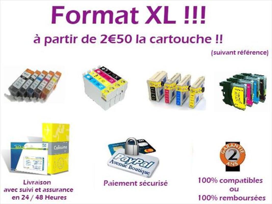 Cartouches 100% compatibles EPSON 97837923