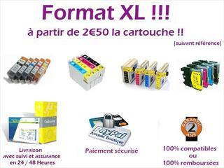 Cartouches 100% compatibles EPSON