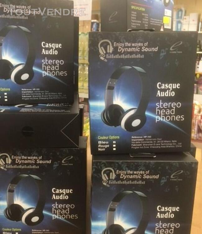 CASQUE AUDIO REFERENCE  HP103 329500183