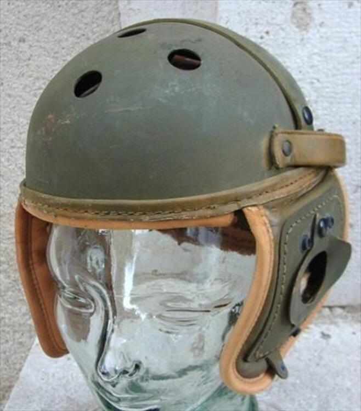 CASQUE DE TANKISTE US RAWLINGS 1944 ETAT NEUF 84794801