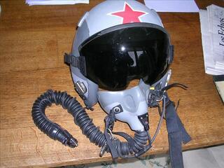 CASQUE PILOTE US HGU 55 + MBU 12   TBE +