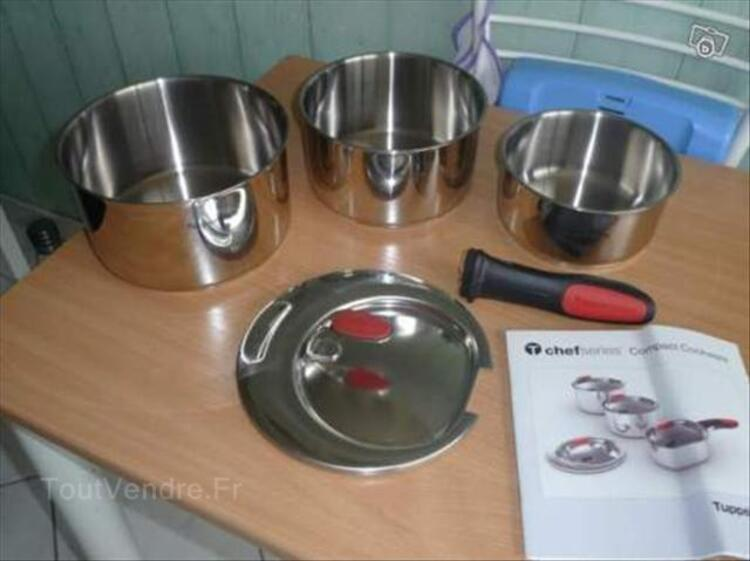 Casseroles chef series com tupperware 1.5 l, 2.5, 3.5, 56364595