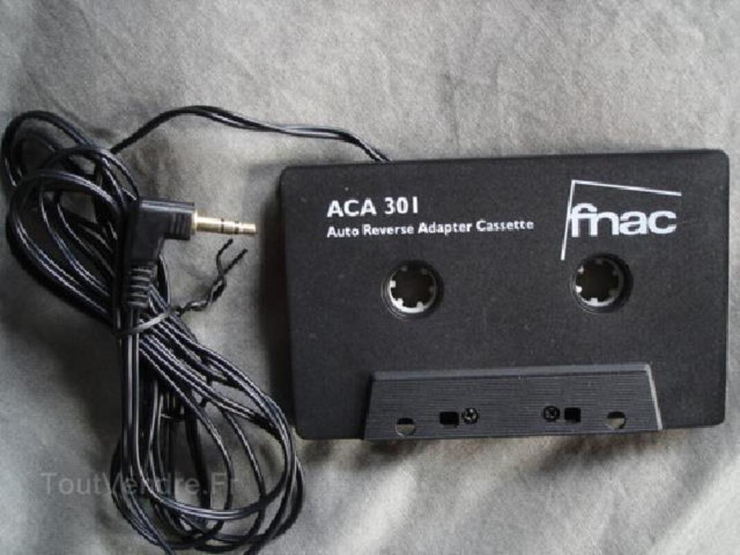 Cassette adaptateur Autoradio CD/DAT/MD/DCC/MP3 FNAC 89552048