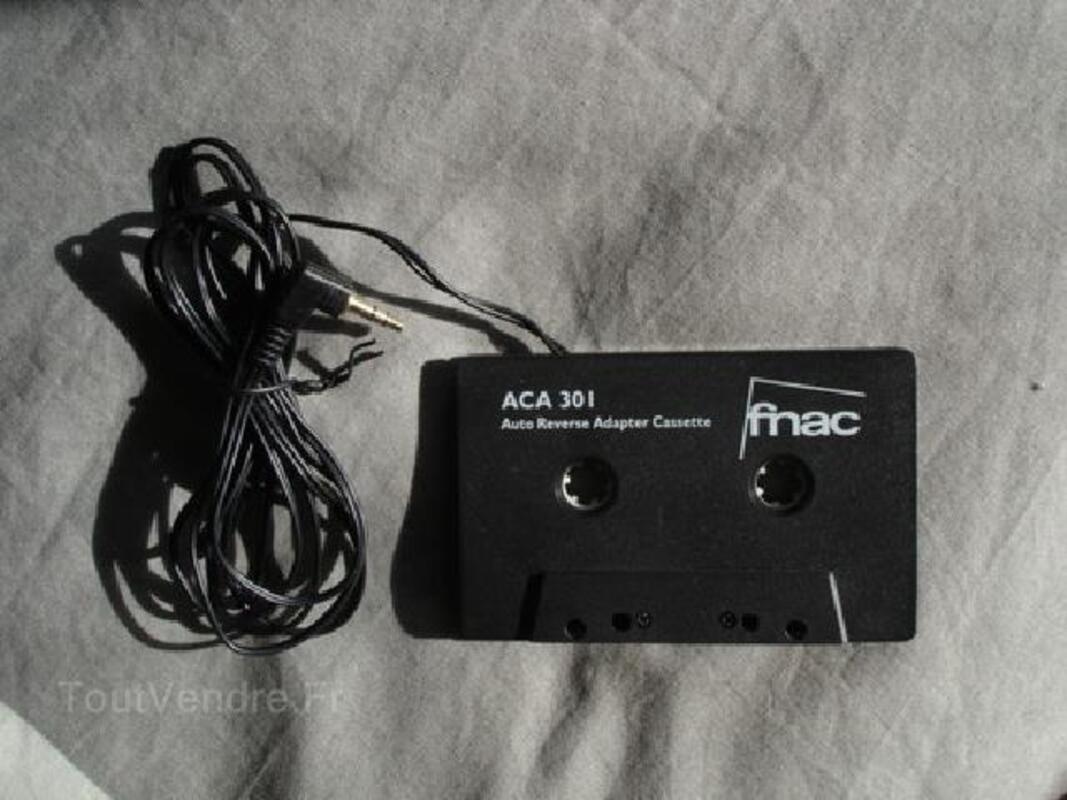 Cassette adaptateur Autoradio CD/DAT/MD/DCC/MP3 FNAC 89552049