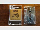 Cassette audio AC/DC For Those About To Rock