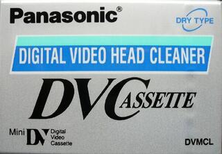 Cassette de nettoyage neuve pour caméscope Mini DV