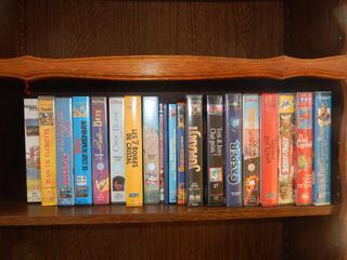 Cassette VHS originales
