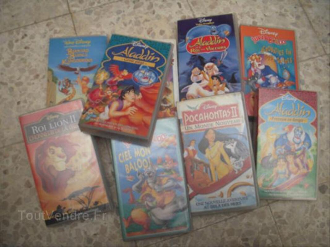 Cassettes Video Disney 49331134