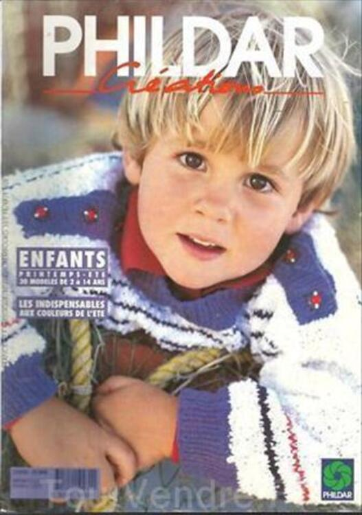 CATALOGUE TRICOT PHILDAR ENFANTS N° 261 2 A 14 ANS 56364096