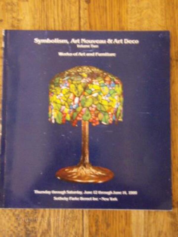 Catalogue vente ART DECO & NOUVEAU-Gallé Daum Lalique 92730444