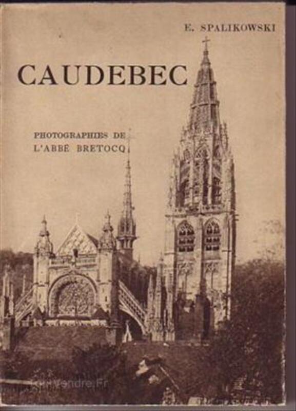 CAUDEBEC 1946.Normandie Seine-Maritime 56227375