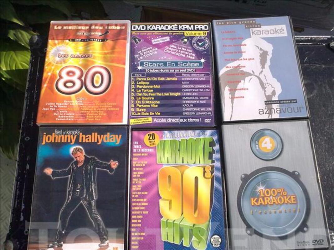 Cause cessation activite  lot de dvd de karaoke 73613614