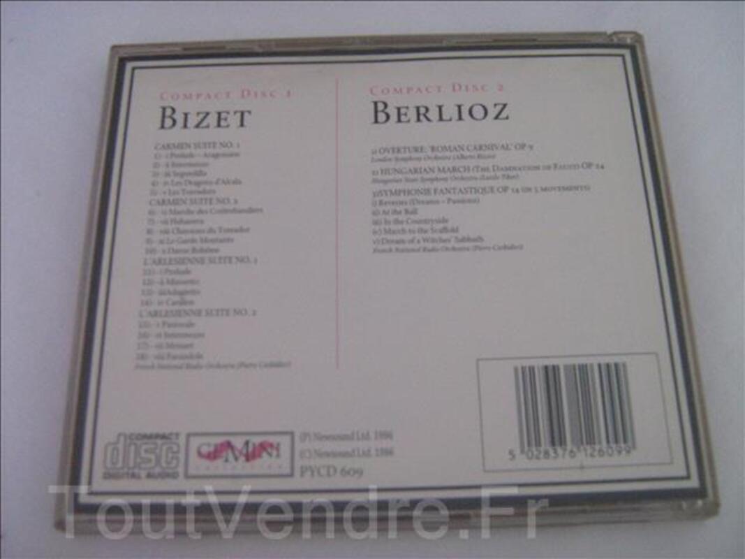 CD double Bizet & Berlioz 92438083