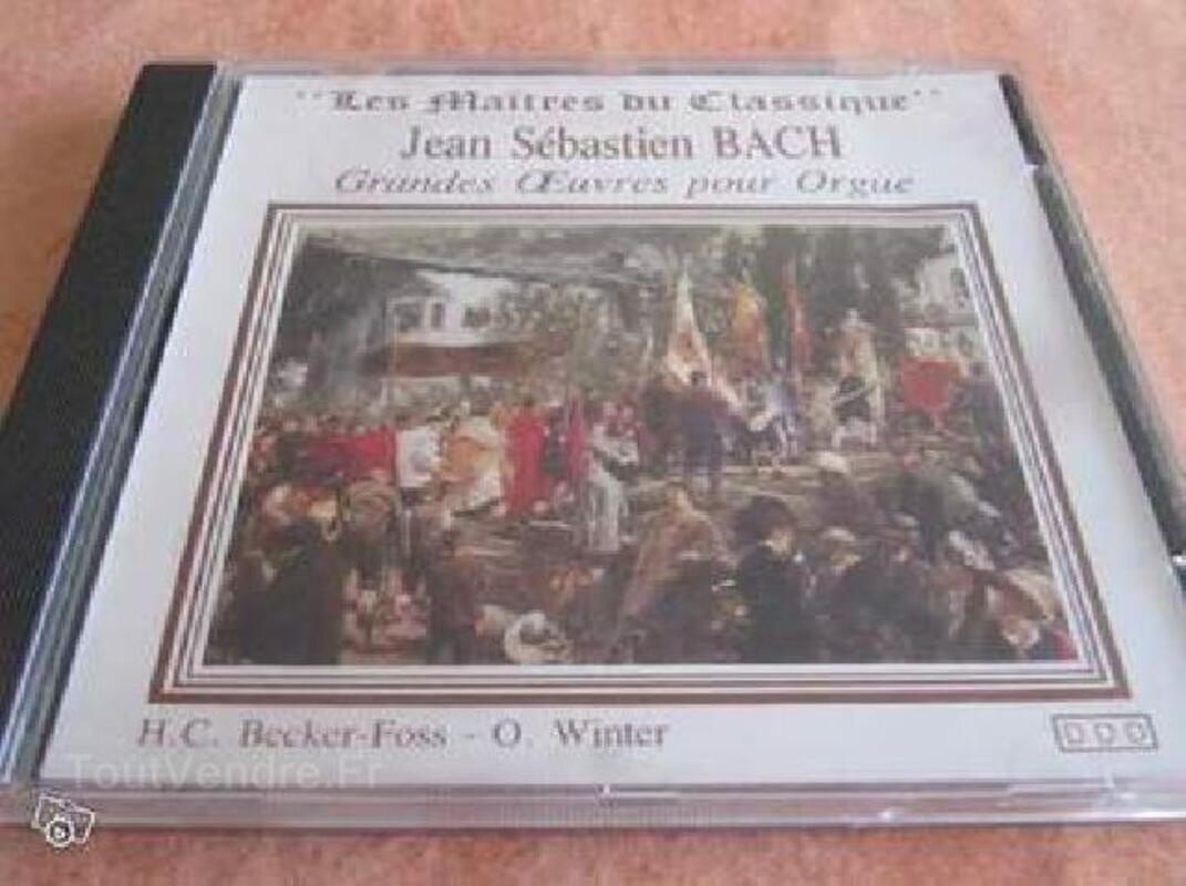 CD MUSIQUE CLASSIQUE DE JEAN-SEBASTIEN BACH 93624517