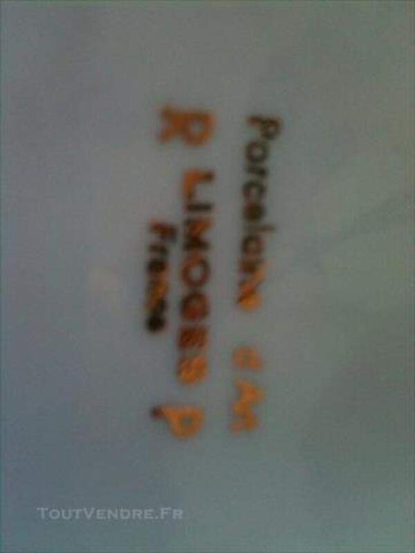 CENDRIER PORCELAINE MARINE OR FIN ET PEINTURE 82333095