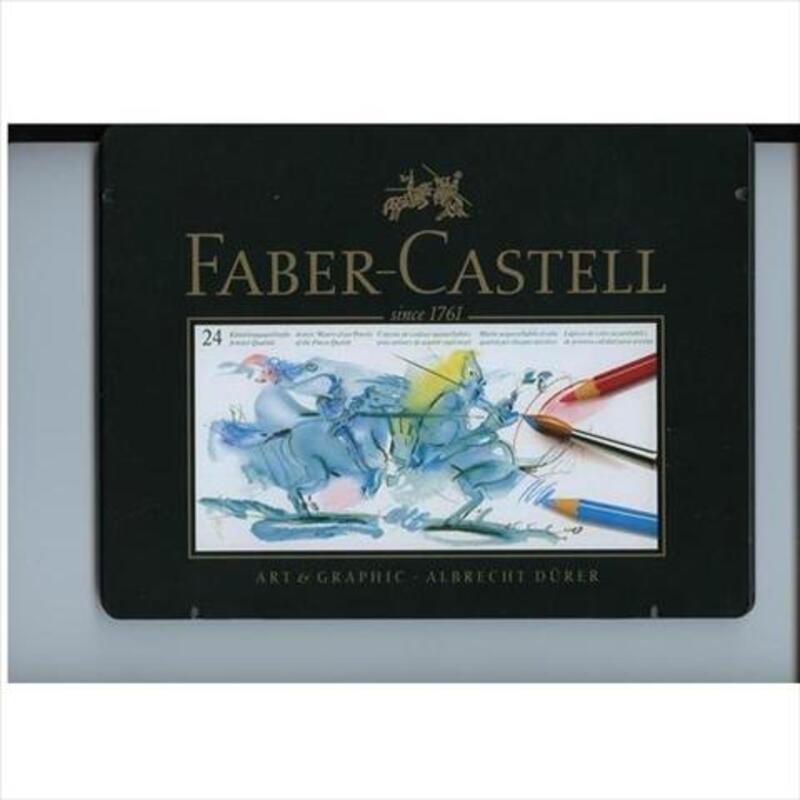 CG Faber Castell 24 crayons aquarellables TBE 19201539