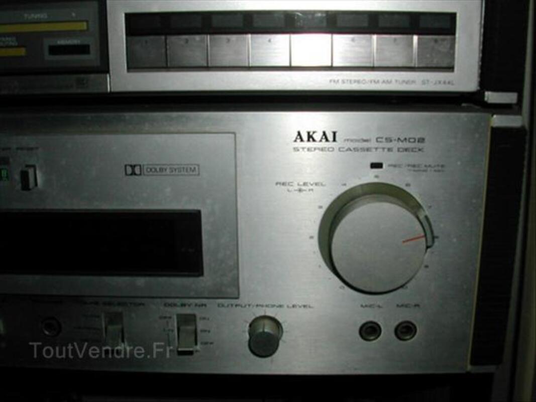 Chaine HI FI SONY AKAI TECHNICS avec meuble 66134357
