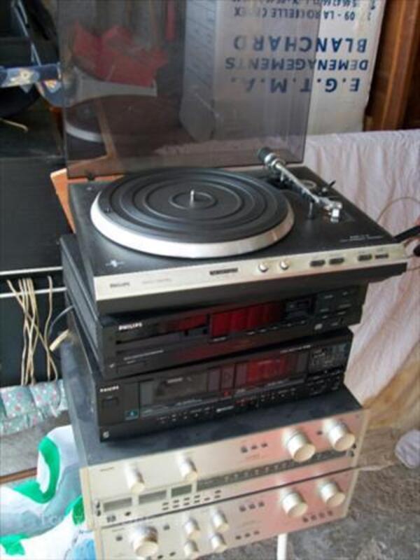 Chaîne Hi-Fi + tourne disques 44272724