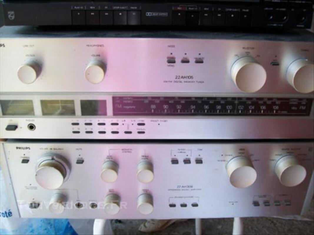 Chaîne Hi-Fi + tourne disques 44272725