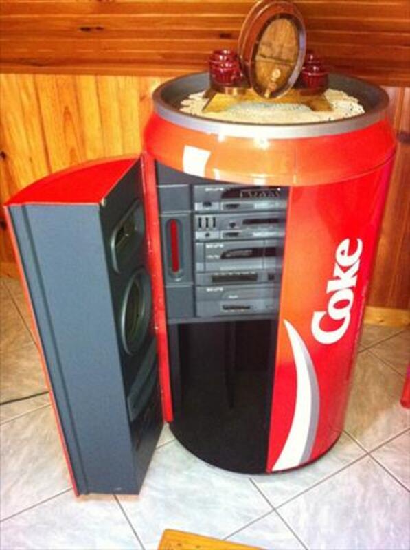 Chaine hifi coca cola 55911315