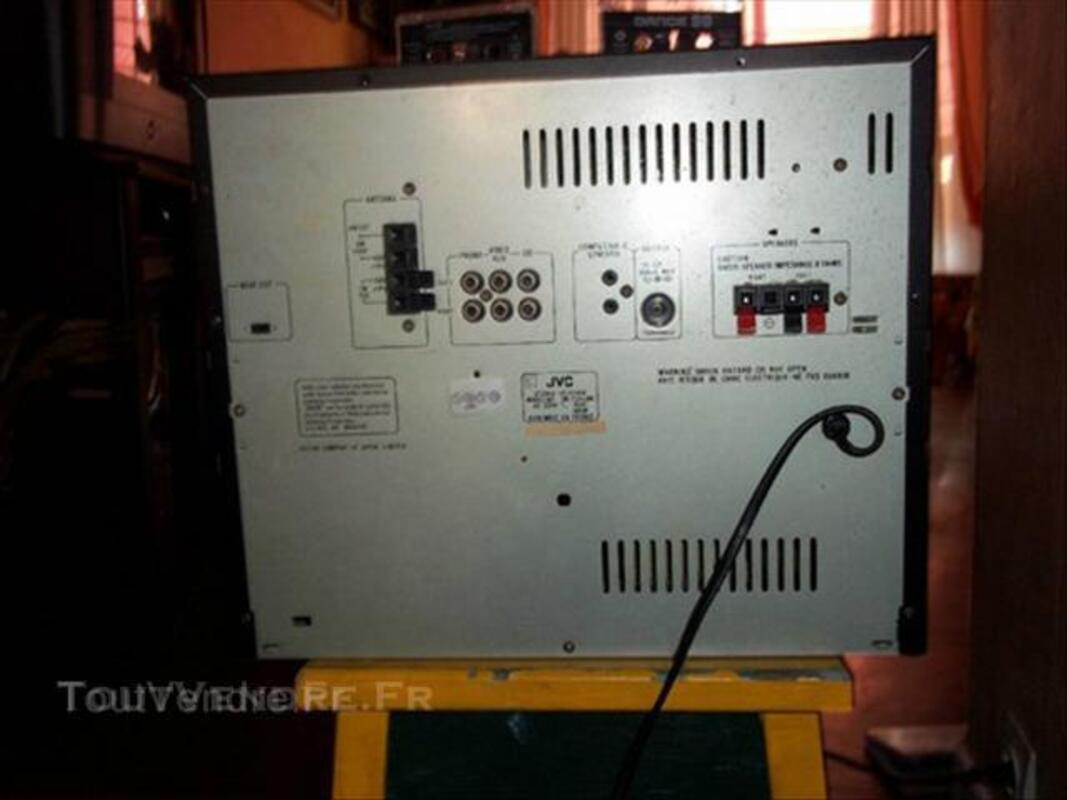 Chaine HIFI compacte JVC double cassette 64392850
