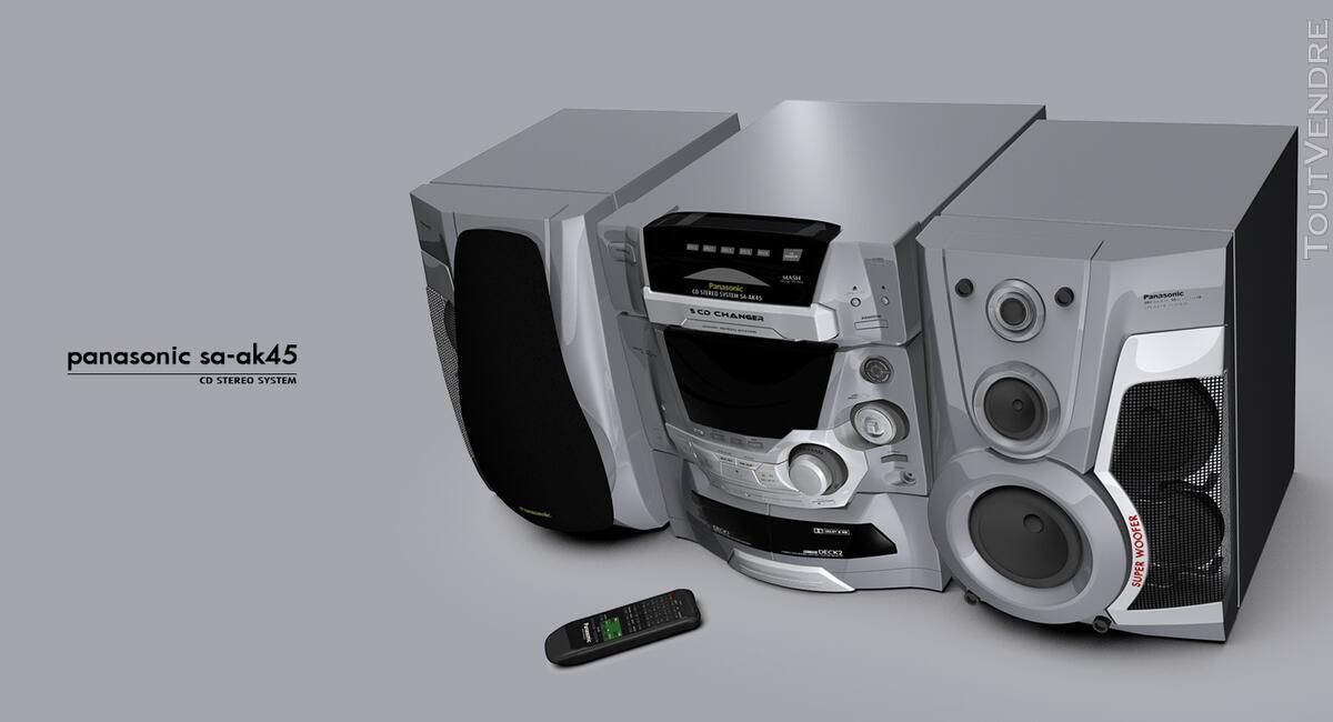 Chaîne Hifi Panasonic Aka 45 127409694