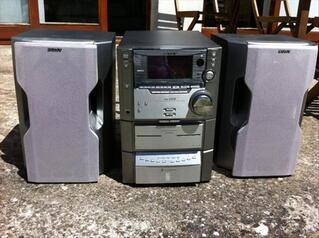 Chaine hifi Sony MHC-ZX10.2x100 watts