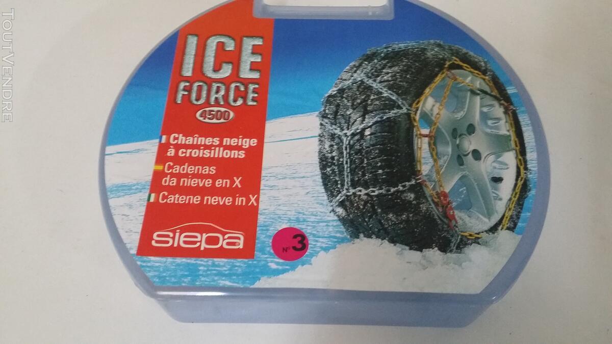 Chaine Neige SIEPA Ice Force - 4500/3 129434949