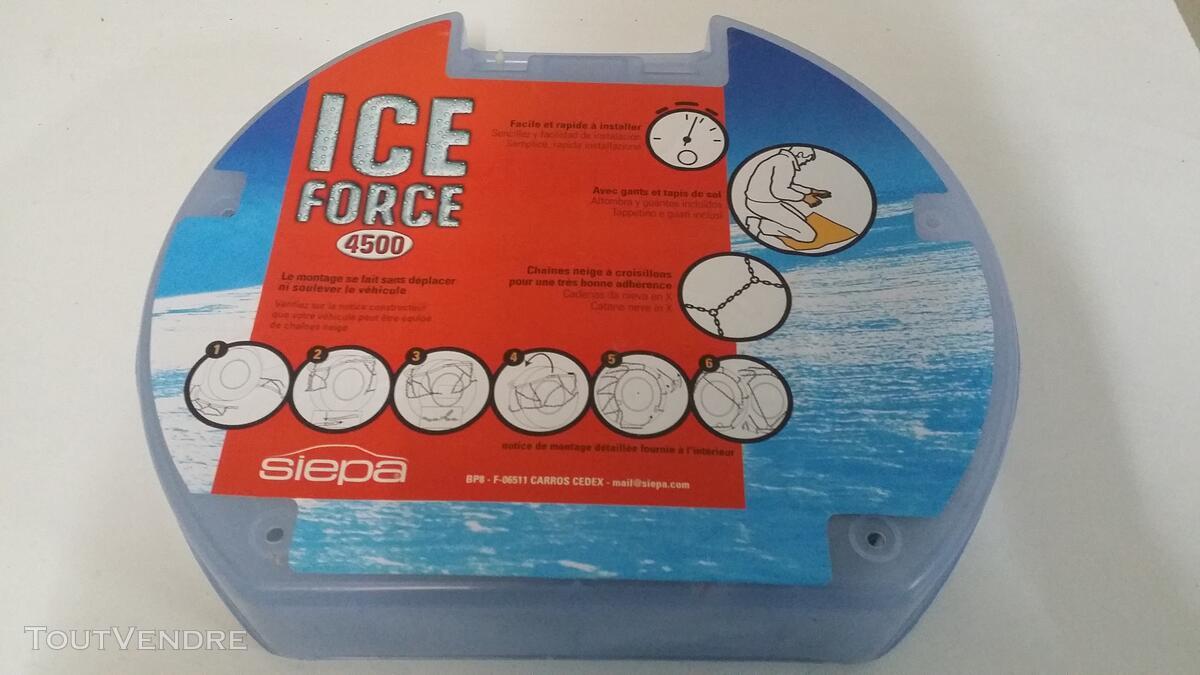 Chaine Neige SIEPA Ice Force - 4500/3 129434951