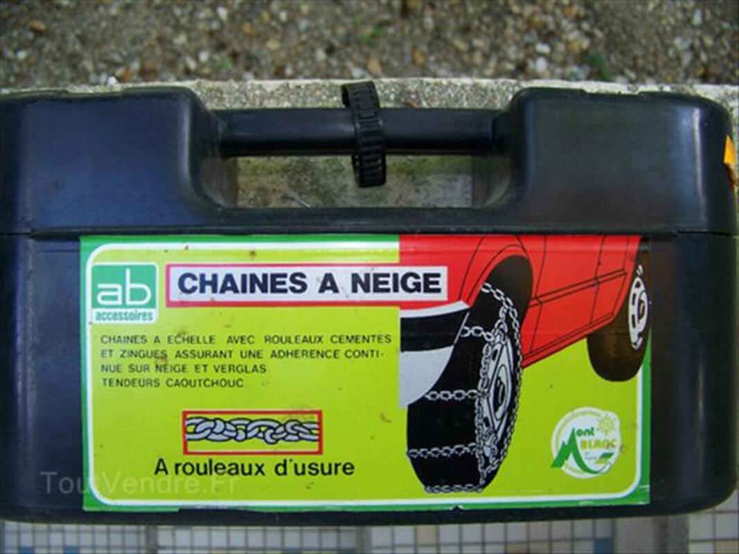 Chaines à Neige à rouleaux d'usure 135x12 70/ 145x12 .. 72552793