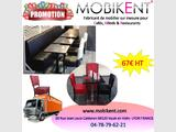 Chaise robuste pour restaurant & café & bar