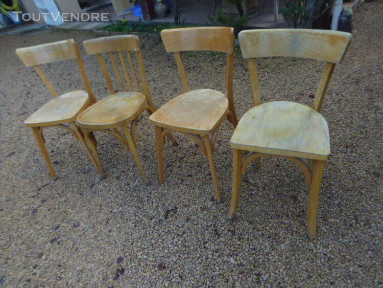 CHAISES BISTROT BOIS ANCIENNE 323342791